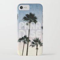 paradise iPhone & iPod Cases featuring PARADISE by RichCaspian