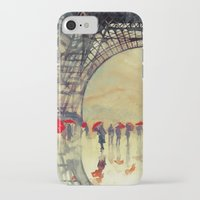 takmaj iPhone & iPod Cases featuring Winter in Paris by takmaj