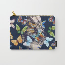 The Butterfly Collector Carry-All Pouch