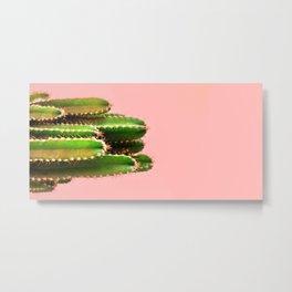 It's Cactus Time Metal Print
