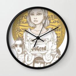 Jugend Wall Clock