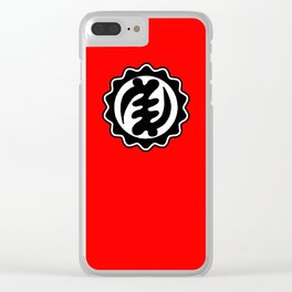 Except Clear iPhone Case