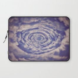 Round Clouds Laptop Sleeve