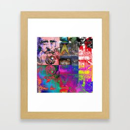 Rebirth (aka The Last Supper) Framed Art Print