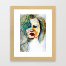 Your Beauty Framed Art Print