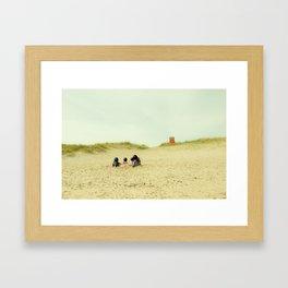 Unknowns 5 Framed Art Print