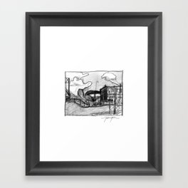 Urban Delights Framed Art Print