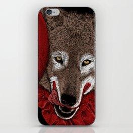 Red Decoy iPhone Skin