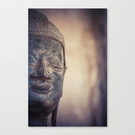 Buddha in Haw Phra Kaew, Laos Canvas Print