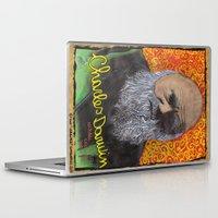 darwin Laptop & iPad Skins featuring Charles Darwin by Ibbanez