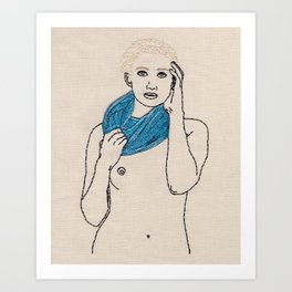Wrapped up with Tate Art Print