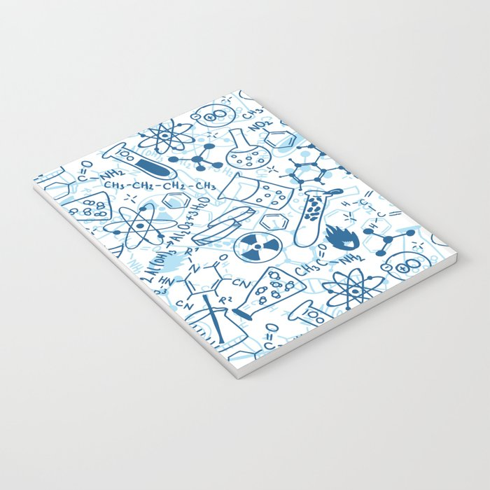School chemical pattern #2 Notebook