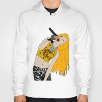 hedwig Hoodies featuring Hedwig Singing by byebyesally