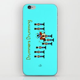 12 Days Of Christmas Nutcracker Theme: Day 9 iPhone Skin