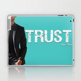 Trust - Cover Design Laptop & iPad Skin