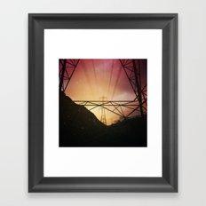 Stranger Skies Framed Art Print