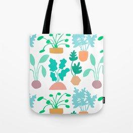 Houseplant Garden Tote Bag