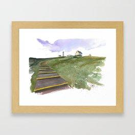 Cape Spear Framed Art Print
