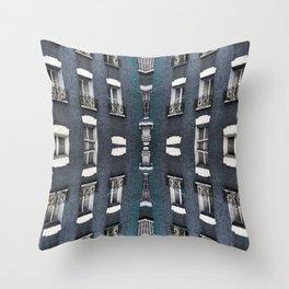 London patterns Throw Pillow