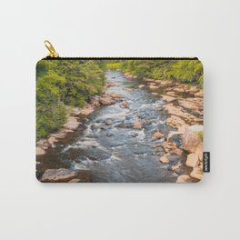 Blackwater Falls State Park West Virginia River Sunset Landscape Print Carry-All Pouch