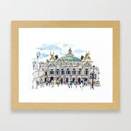 Palais Garnier, Paris Framed Art Print