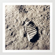 One Giant Leap For Mankind Art Print