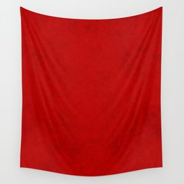 Red suede Wall Tapestry