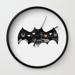 Who is the Bat? Wall Clock