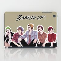 "band iPad Cases featuring "" Beanie Band "" by Karu Kara"