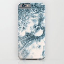 Marble Flow - Moody Blue iPhone Case