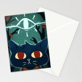 total trash mammal Stationery Cards