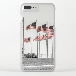 America the Beautiful Clear iPhone Case