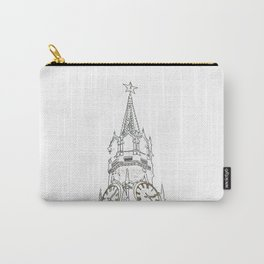 Kremlin Chimes- white Carry-All Pouch