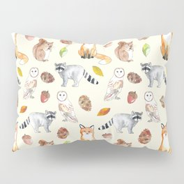 Woodland Critters Pillow Sham