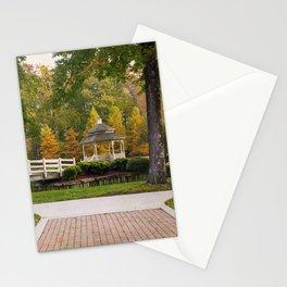 Gazebo In Autumn Stationery Cards