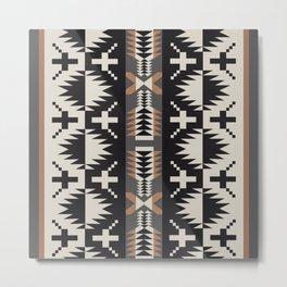American Native Pattern No. 275 Metal Print