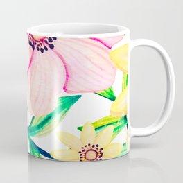Pink and Yellow Happiness Coffee Mug