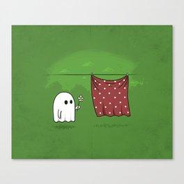 Friendly Ghost Canvas Print