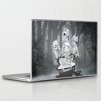 zombies Laptop & iPad Skins featuring Zombies  by Alejandra Ochoa