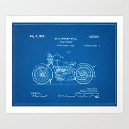 Blue print art prints society6 malvernweather Choice Image