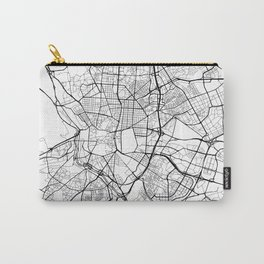 Madrid Spain Street Map Carry-All Pouch