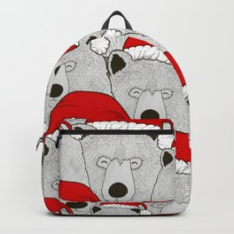 Christmas Bears Backpack