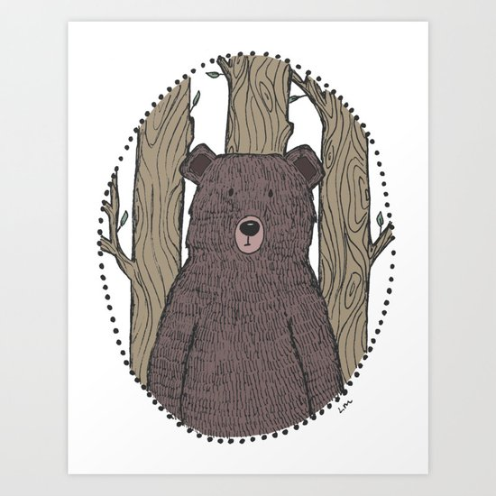 Portrait of a Bear by lauramax