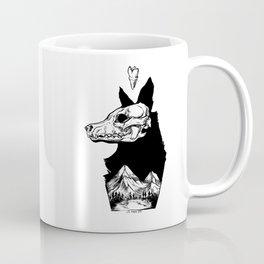 Black Wolf Mountain Coffee Mug