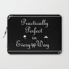 Mary Poppins Practically Perfect Laptop Sleeve
