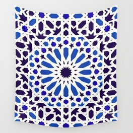 -A18- Original Traditional Moroccan Tile Design. Wall Tapestry