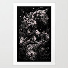 Sleep with Gods Art Print