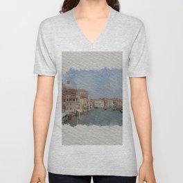 Venice on my mind Unisex V-Neck