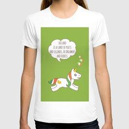 St. Patrick's Day Unicorn 3 T-shirt