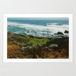 Jenner, CA Art Print